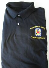"""199TH INFANTRY BRIGADE""""REDCATCHERS"""" EMBROIDERED LIGHT WEIGHT POLO SHIRT"""