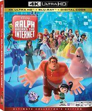 RALPH BREAKS THE INTERNET  (4K ULTRA HD ) Blu Ray Region free