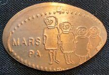 Alien Family - Mars Pennsylvania Elongated Pressed Copper Penny