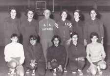 FOTO GRUPPO DI ATLETICA SAVONA  1966 RAGAZZE  19-104