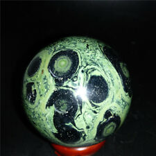 Kambaba Jasper ball Sphere Stromatolite Fossil Healing Ball from Madagascar 53mm