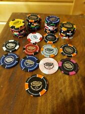 "Lot of 50 Harley Davidson ""Thiel's Wheels"" Poker Chips - Upper Sandusky Ohio"
