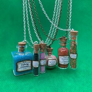 HP (Harry Potter) Hogwarts Potion Pendant Necklace - Draught of Living Death NEW