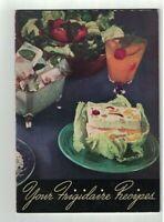Your Frigidaire Recipes Booklet 1940 Refrigerators General Motors GM