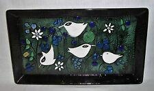 Large Bird Tray / Wall Plaque - Sylvia Leuchovius for Rorstrand