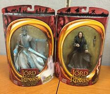 The Lord of the Rings Grima Wormtongue And twilight Ringwraith Toy Biz New