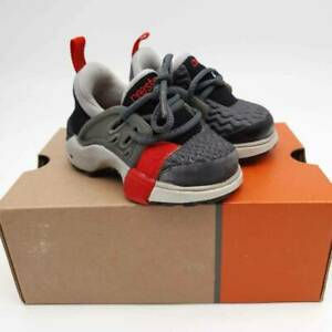Nike Unisex Kids Little Presto Gym Sneakers Gray Lace Up Shoe 011202 6mo 2 3 New