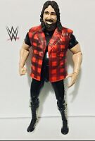 WWE MICK FOLEY CACTUS JACK WRESTLE FIGURE TNA DELUXE IMPACT SERIES 2 JAKKS 2010