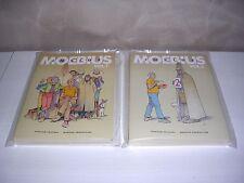 MOEBIUS INSIDE VOLUMI 1-2 COMICON EDIZIONI-MOEBIUS PRODUCTION IMBUSTATI EDICOLA