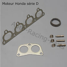 3 JOINTS Collecteur inox 4-2-1 HONDA CIVIC moteur D13B2 D15B2 D15B7 D15Z1 D16Z6