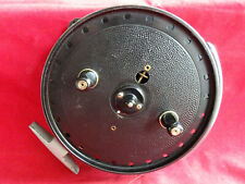 """A VERY GOOD SCARCE VINTAGE JW YOUNG TRUDEX 5 1/2"""" CENTREPIN REEL"""