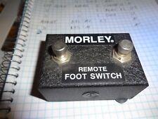 Vintage Morley RFS-2 Original Remote FootSwitch