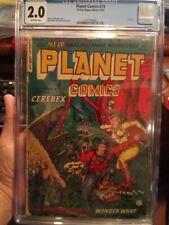 Planet Comics #73 CGC 2.0 OW Scarce Whitman Pre-Code GGA Headlight Sci-Fi Cover!