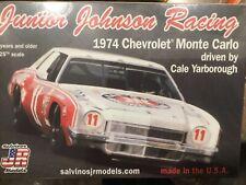 SALVINOS JR CALE YARBOROUGH 1974 MONTE CARLO #11 KAR KARE NASCAR 1/25 McM KIT