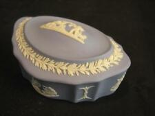 Vintage Small Wedgwood Jasperware Covered Box