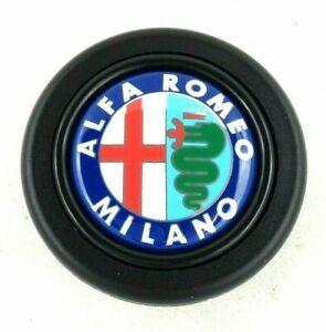 Alfa Romeo Milano steering wheel horn push button. Fits Momo Sparco Nardi Raid