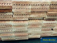 27x142mm Terrassendielen Douglasie B statt Lärche Hochbeet Holzfliesen Bretter
