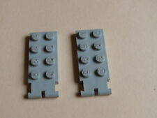 Lego 2 charnieres gris clair /2 old light gray hinge 163 686 404 733 912
