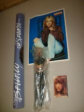 BRITNEY SPEARS PROMO DOLL (2) POSTER & RARE ONE MORE TIME SINGLE LOT NEW