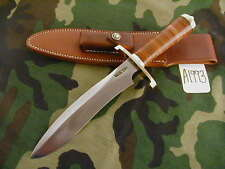 "RANDALL KNIFE KNIVES #12-8"" SMALL SASQUATCH,SS,BLH,BSC,LEATHER,BB  #A1993"