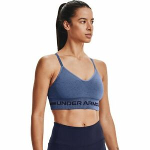 Under Armour Seamless Low Long Heather Bra - Women's