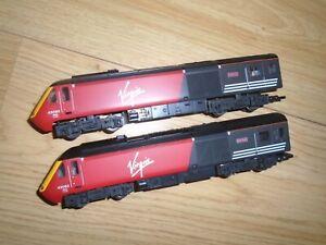 Virgin Locomotive & Dummy Car for Hornby OO Gauge Model Railway Train Sets
