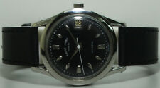 Vintage Favre Leuba Daymatic Swiss Made Wrist Watch S839 Old Used Antique