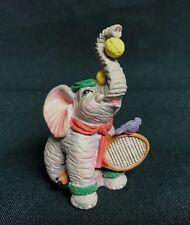 Luckyphants. Elephant figurine Tennis Player  #1034
