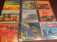 SURF INSTRUMENTALS GREATEST HITS ALBUMS DALE LIVELY ONES SENTINALS & MORE 10 CDS