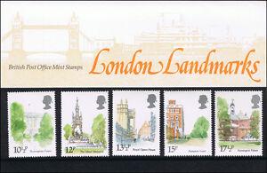 London Landmarks - British Post Office MINT Stamps 1980 - Presentation Pack #118