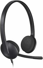 Logitech USB Headset H340 Stereo USB Headset for Windows and Mac