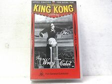 VHS tape the original KING KONG starring Fay Wray and Bruce Cabot New
