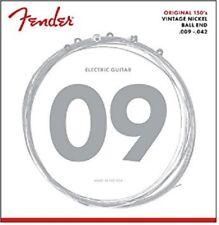 Fender Original 150's Pure Nickel Electric Guitar Strings 150L .009-.042