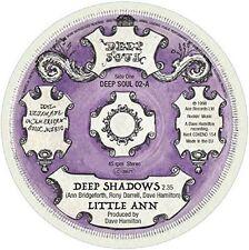 """Little Ann - Turn Ar - Deep Shadows - Stay Away [New 7"""" Vinyl]"""