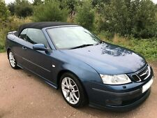 2006 -Saab 9-3 2.0 T Aero 2dr Convertible AUTO / 2 Former Keepers