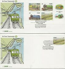 Railways Comm/FDC - Ireland - 150th Ann of Irish Railways - 1984 (1403)Z
