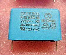 (20) EVOX RIFA PHE830MF6470MR06L2 470nF 0.47uF 275V 20% RADIAL FILM CAPACITOR