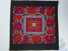 33x32cm Chinese Ethinic Yi Women's cross-stitch Hand Embroidery piece