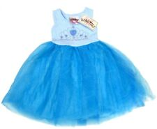 BEAUTEES Girls TUTU DRESS Sparkle Crown TULLE Skirt Princess BLUE Party | 3 Yrs