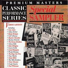 CLASSIC PERFORMANCE SERIES Special Sampler CD - Jazz