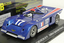 FLY EGB11 CHEVRON B21 FRANCE SPECIAL EDITION NEW 1/32 SLOT CAR IN DISPLAY CASE