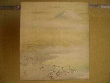 1933 Japanese antique magazine supplement Jippo Araki Mt.Fuji Fujiyama Fujisan