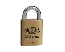 New Lockwood 334 Padlock - Locks can be keyed alike or to sample key - Brisbane
