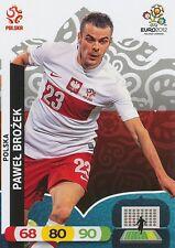 PAWEL BROZEK # POLAND POLSKA CARD PANINI ADRENALYN EURO 2012