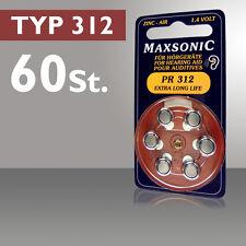 60 Apparecchi Acustici Maxsonic Batterie Apparecchi Acustici Batteria Batteria PR 312