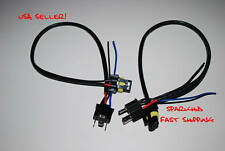 H4 9003 HB2 HID wire CONNECTOR harness NeW replacements pigtail connection New!