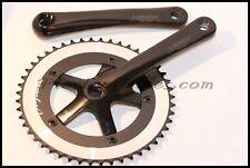 NEW Bike Bicycle Fixie Lasco 48T Black Crank Crankset