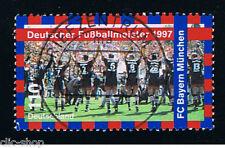 GERMANIA 1 FRANCOBOLLO CALCIO 1997 usato