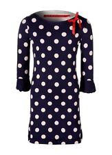 Bengh per principesse Kleid Volant 3D Schleife 116-122-128 Navy Blue Polka Dots