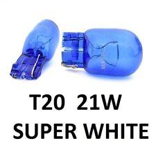 W21W WY21W T20 7440 DRL No Error Sidelight Indicator Super White HID Xenon Bulbs